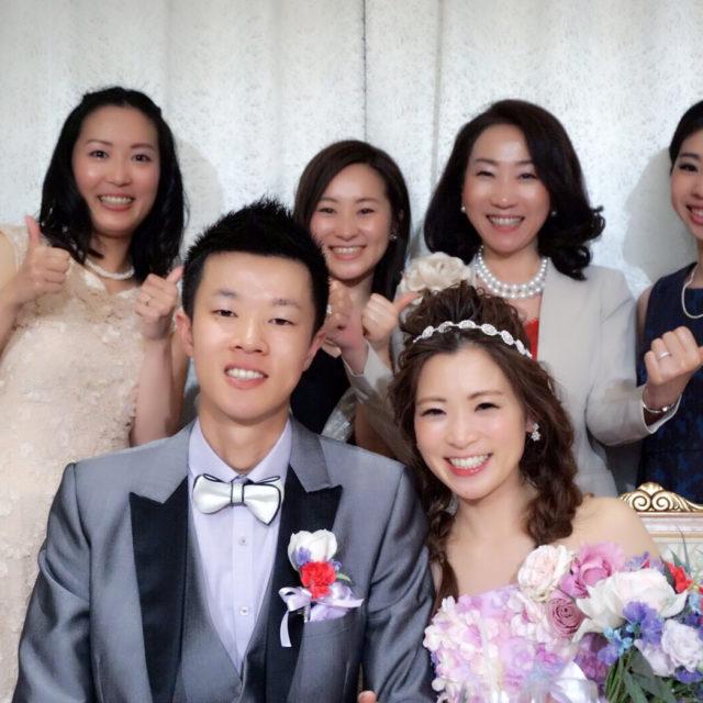 スタッフの結婚式☆最高にうれしいです!