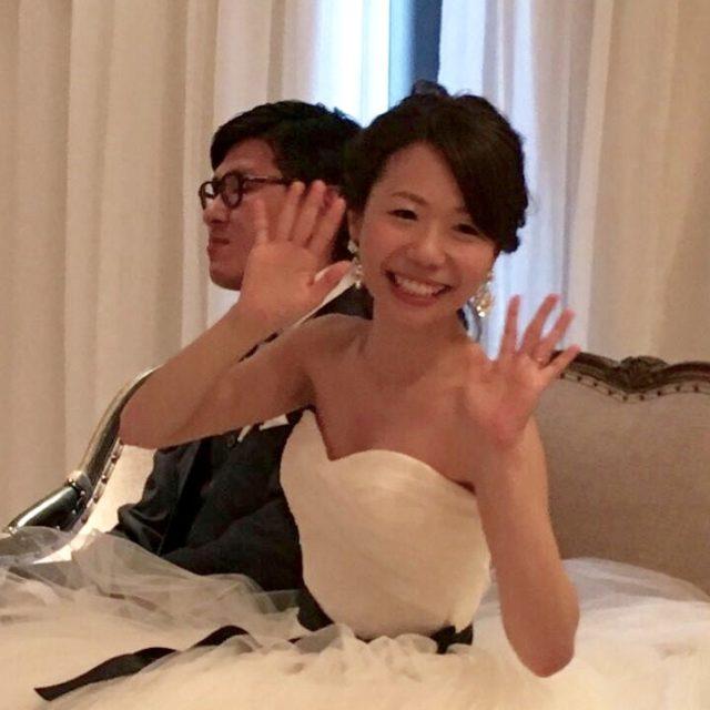矯正中に結婚式挙げました♡